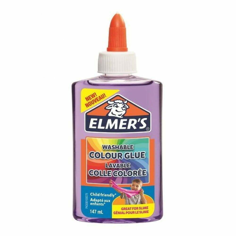 Elmer's Colla Vinilica semitrasparente 147 ml colore viola