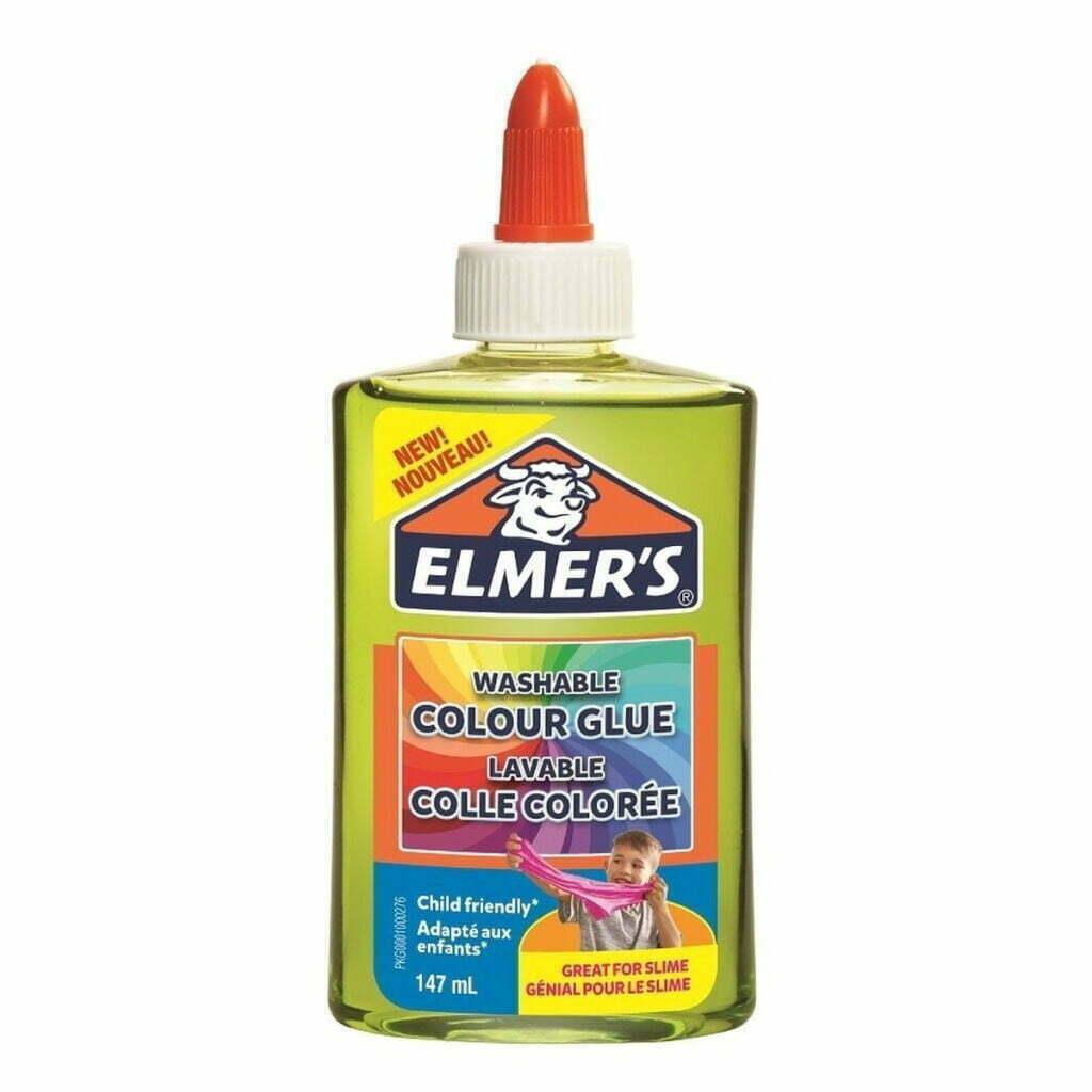 Elmer's Colla Vinilica semitrasparente 147 ml colore verde
