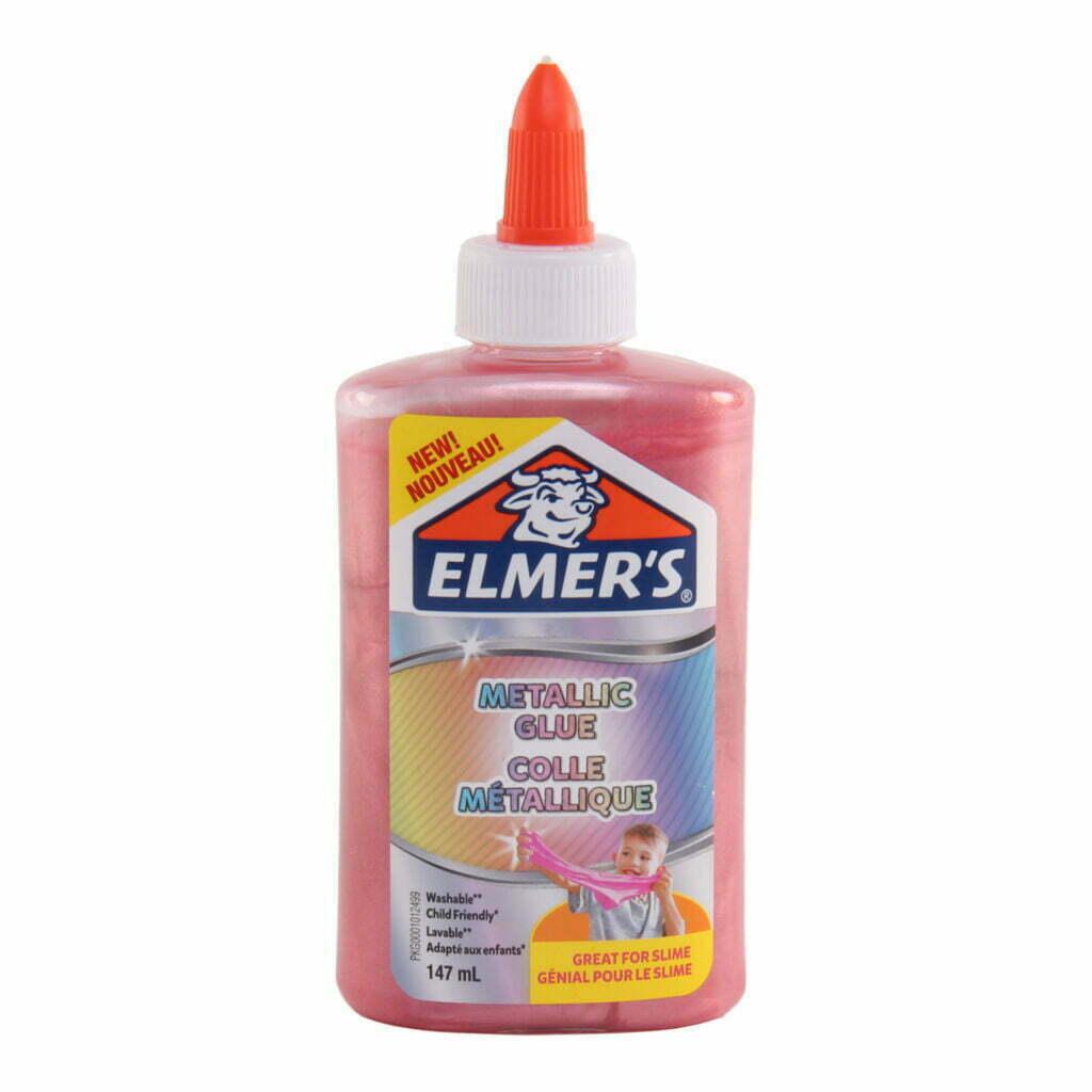 Elmer's Colla Vinilica metallizzata 147 ml colore rosa