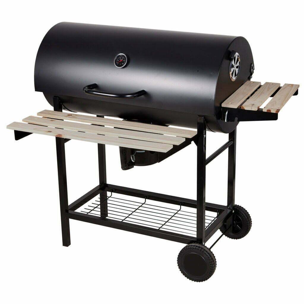 Barbecue rettangolare con coperchio Nerone 101 x 70 x 95 cm